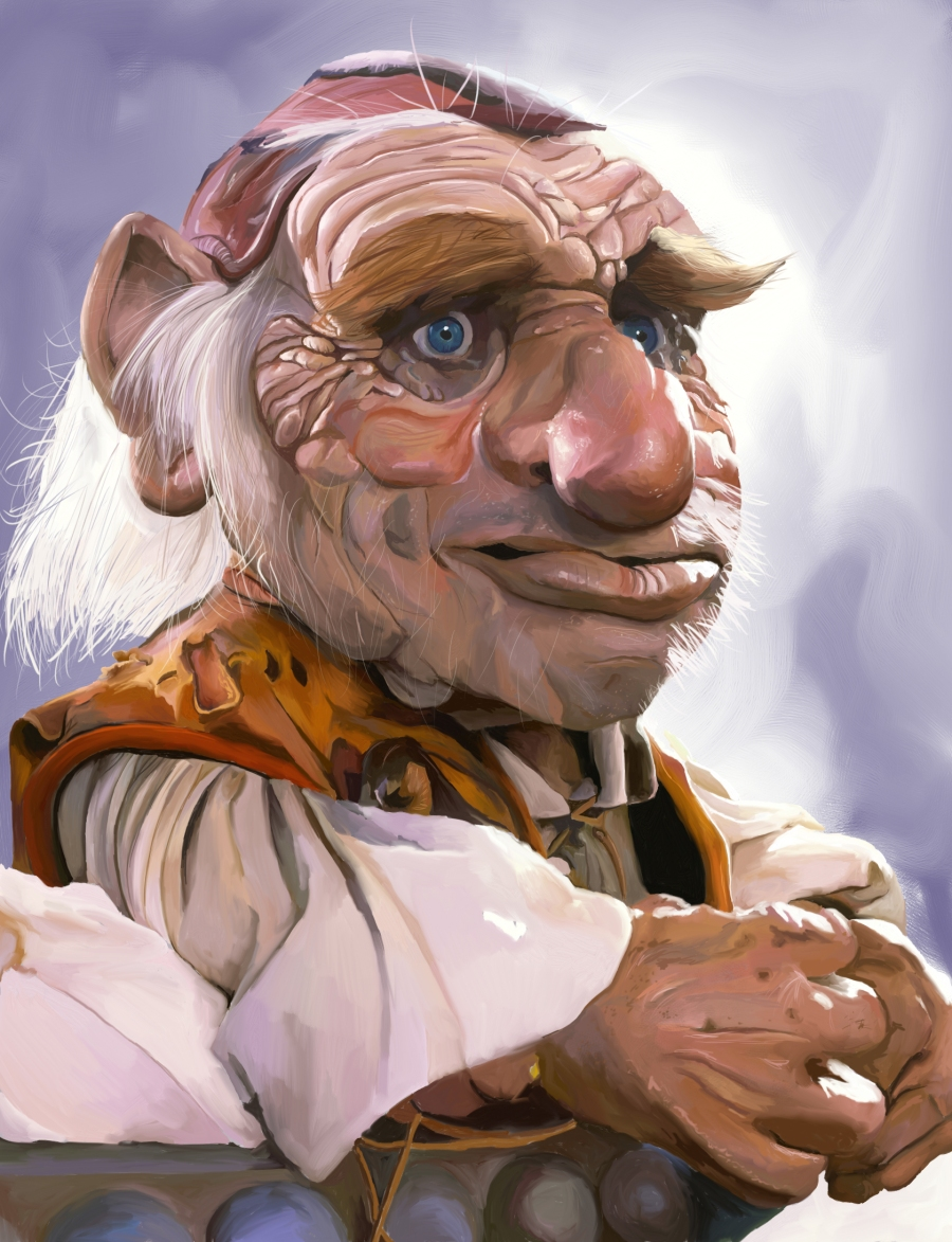 Hoggle Portrait