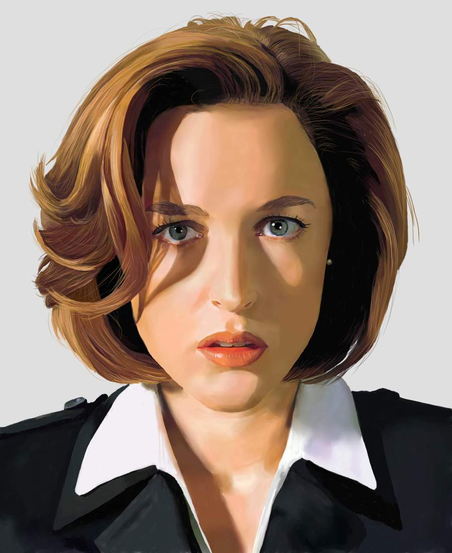 Scully Portrait